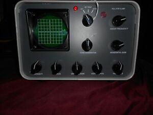 HeathKit SB-610 Monitor scope With Collins update