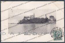 VARESE BIANDRONNO 02 LAGO di VARESE Cartolina viaggiata 1913 Ed. ALTEROCCA TERNI
