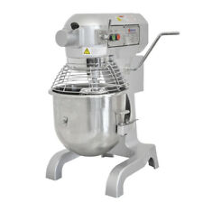 Omcan Mx-Cn-0020-G 20441 20qt General Purpose Mixer with Guard 3 attachments Etl