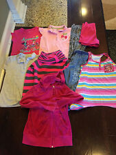 Pre-Owned Girl's Lot of 9 PC Mixed 10/12 Old Navy Gymboree Circo