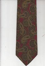 AQUASCUTUM of London-Authentic-100% Silk Tie-Made In Italy-Aq1-Men's Tie