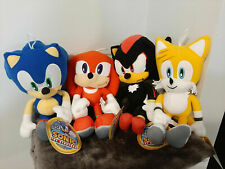 "Sonic the Hedgehog Plush TOY FACTORY NWT YOU PICK Knuckles Shadow 12"" Inches"