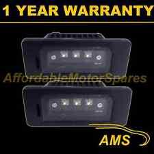 2X FOR BMW X1 X5 X6 E70 E71 E84 ALUMINIUM 3 CREE WHITE LED NUMBER PLATE LAMP