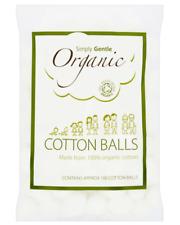 Simply Gentle Organic Cotton Wool Balls 100 Balls ( PACK OF 3 )