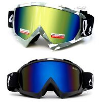 "Mens Snow Ski Goggles ""Gorilla"" Anti-Fog Dual Lens UV400 Snowboarding w Pouch"