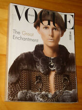 VOGUE MAGAZINE=ITALIA=2003/631=MARCH=Stella Tennant by Steven Meisel