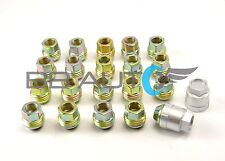 82-92 CAMARO Z28 FIREBIRD TRANS AM LUG NUTS AND COVERS SILVER SET OF 20 (40 PCS)