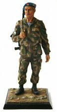 Painted Tin Toy Soldier Airborne Officer 54mm 1/32