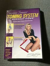 SUZANNE SOMERS' TONING SYSTEM WORKOUT VIDEO NEW AND SEALED DVD FREE SHIPPING