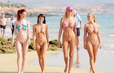 5 x Sexy groups of women A4 photos #2