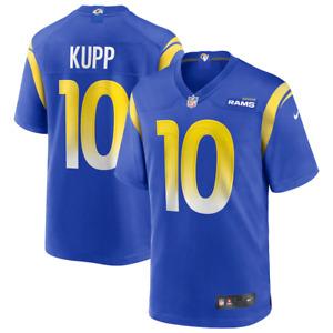 Los Angeles Rams Nike Men's Jersey Home Jersey - Kupp 10 - New