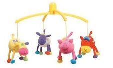 Boys & Girls' Farm Themed Musical Nursery Mobiles