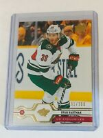 2019-20 UD EXCLUSIVES /100 RYAN HARTMAN 375 MINNESOTA WILD