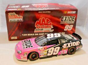 NASCAR 1/24 Jeff Burton #99 1999 Exide Batteries Mac Tools 1 of 5000
