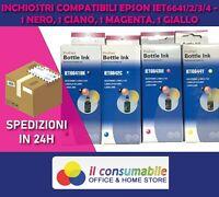 KIT DA 4 INCH. 6641-2-3-4 BK C M Y  COMP EPSON EcoTank ET-14000  ITS L 3050 L 13