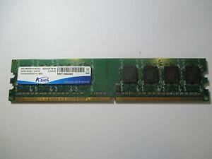 1GB DDR2-800MHz PC2-6400 DESKTOP RAM. ADATA  RMT-8B0380