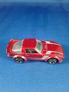 Mazda Rx-7 red Hot Wheels Car Mattel 2011 Loose pre-owned