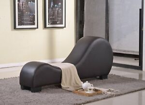 Curved Yoga Tantric Sex Position Love Play Chair Sofa Lounge Couch Sexual Seat