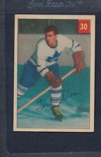1954/55 Parkhurst #030 Tod Sloan Maple Leafs EX *49