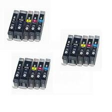 15 New Ink Pack Comp for Canon PGI5BK CLI8 iP4200 iP4300 iP4500 iP5200 MP500