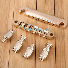 Gold Tune-O-Matic Bridge & Stop Tailpiece for Les Paul LP Gibson Electric Guitar