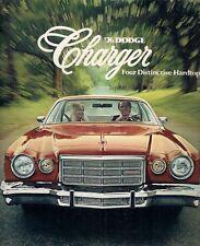 DODGE CHARGER 1976 USA delle vendite sul mercato opuscolo SPORT DAYTONA SPECIAL EDITION