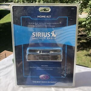 Sirius SUPH1 (dtc) Dock & Play Satellite Radio Universal Home Kit XM Desktop NEW