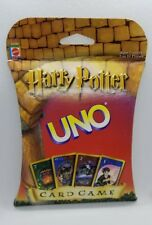 HARRY POTTER Uno Card Game from Mattel 2000 Brand New Factory Sealed