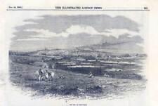 Melbourne - Australien - Australia - Holzstich 1855