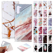 Marble Soft TPU Silicone Case Slim Cover For Samsung Galaxy Note 10 Plus S10 5G