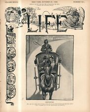 1896 Life October 22 - Du Maurier dies; McKinley in beard; Princeton is 150;