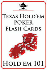 Color Up POKER FLASH CARDS: HOLD'EM 101. Learn how to win at Texas Hold'em!
