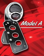 Model A Taillight w Modular Plate Mount, Vertical or Horizontal, Either Side!!
