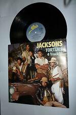 "THE JACKSONS - Torture - Full Version 1978 UK 4-track 12"""