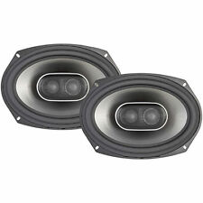 "Polk Audio MM692 300W RMS 6x9"" Mobile Monitor 3-Way Coaxial Car Stereo Speakers"