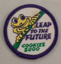 Girl Scout Patch Leap To The Future Cookies 2000 Uniform Patch Gs #Gspp