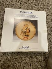 1993 H,I. Hummel Collectible plate goebel. In original Box