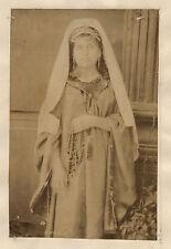 Femme Betlem Moyen Orient Afrique du Nord Turquie Vintage Albumine ca 1880