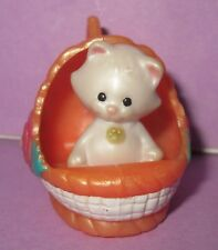 Littlest Pet Shop LPS Vintage Kenner Cat Kitten Jewel Pets Be Mine Necklace 1995