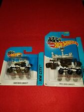 HOT WHEELS MARS ROVER CURIOSITY lot of 2 different