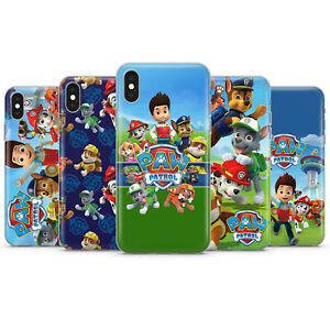 PAW PATROL CARTOON GIFT PHONE CASES & COVERS FOR IPHONE 5 6 7 8 X 11 SE 12 PRO