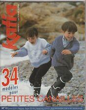 Catalogue de tricot KATIA n°15 ENFANTS Automne-Hiver