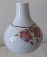 ROSENTHAL Ceramic VASE Bjorn Wiinblad Studio Linie ROMANZE line floral signed A