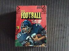 1980 TOPPS FOOTBALL WAX BOX IN 79 WRAPPERS AUTH BY THE BBCE