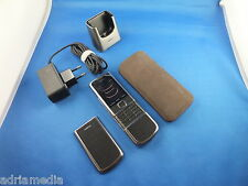 Nokia 8800 CARBON ARTE Titanium Phone LUXUS HANDY Made in Korea Ladestation Case
