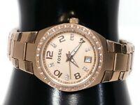 """AM4508 Fossil Blue Women's watch Rose Gold 28 mm 6.75"""" Quartz"""