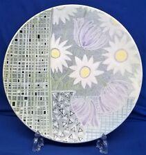 POOLE POTTERY STUDIO MEDITERRANEAN STYLE DESIGN 35cm CHARGER - ROS SOMMERFELT