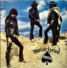 MOTORHEAD Ace of Spades VINYL Lemmy Kilmister FAST EDDIE CLARKE Autograph SIGNED