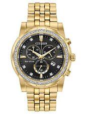 666Men's Citizen Eco-Drive Corso Gold Tone Watch #AT2452-52E
