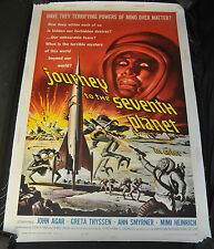 Journey to the Seventh Planet Linen back One Sheet 1 Sh Poster - (1962) ITB WH